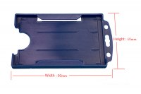 SW-427 Hard plastic card holder