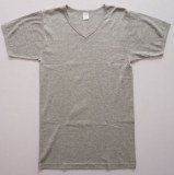 Manufacturing men plain t shirt in grey and v neck