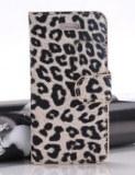 Leopard motif Etui pochette cuir simili pour iPhone 5