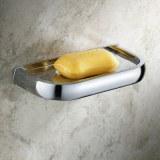 Chrome Fini salle de bains en laiton du savon vaisselle TCB7409