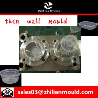 Plastic injection food container mould with high quality