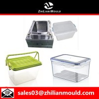 Plastic injection container mould with high quality