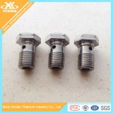 Gr5(Ti-6AL-4V) Titanium Banjo Bolts For Motorcycle