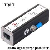 Audio signal surge protector
