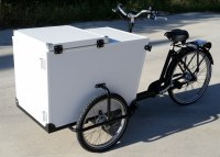 Isothermal / cool delivery tricycle