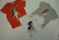 END OF STOCK - GIRLS TEES AT 1.50 EUR