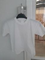 T-shirt white child 100% cotton 145g