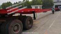 20 30 40 50 m Hydraulic axle Wind Turbine Blade flatbed Trailer