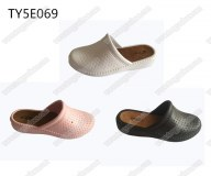 Fashion wedge heel ladies sandals clogs shoes