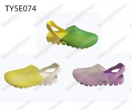 Fancy tpu upper ladies jelly clogs shoes