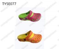 Top quality ladies fashion nude mule eva sandal clogs