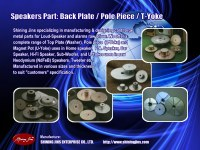 T-Yoke Bottom Plate Speakers part made in Taiwan