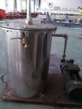 Vacuum tank for extrusion