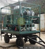 Double Stage Vacuum Insulation Oil Regeneration Purifier