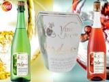Vin pétillant Joven Jordan blanc et rosé - Gilvus