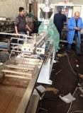 TPU/TPR/EVA shoe sole plastic pellet extruder machine