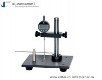 Bottle wall thickness tester