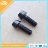 Black Ti6al4v Titanium Hex Socket Taper Head Screws&Bolts