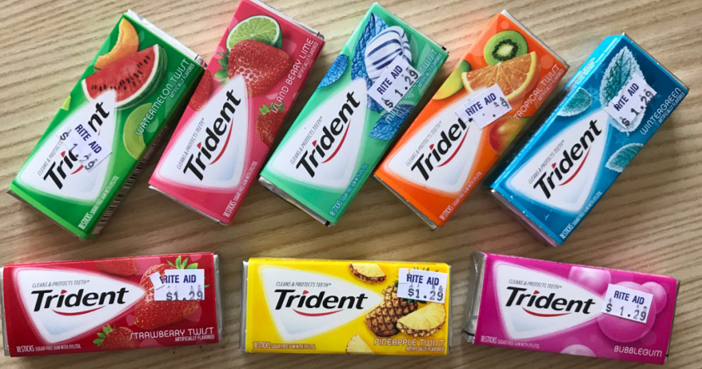 trident chewing gum km int trading b import export