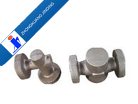Die hot forging various of blank valve body
